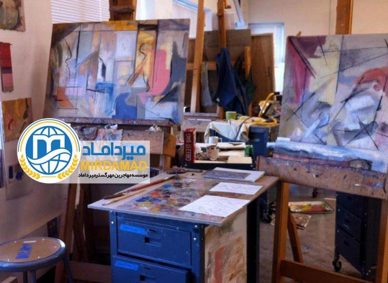 تحصیل در رشته نقاشی در ایتالیا