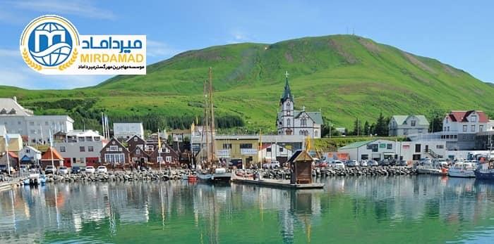 مزایای اقامت ایسلند