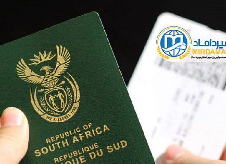 اعتبار و ارزش پاسپورت آفریقای جنوبی