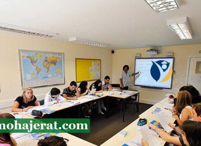 دوره زبان انگلیسی در سوئیس