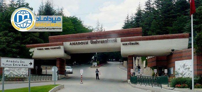 دانشگاه آنادولی ترکیه