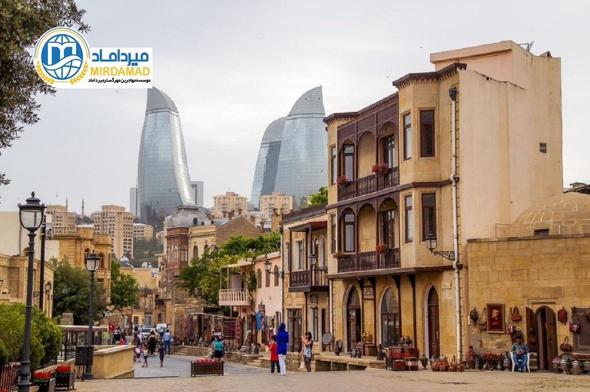 اقامت آذربایجان از طریق کار