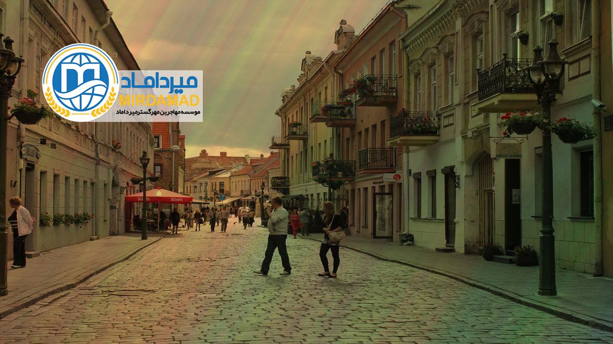 مهاجرت کاری به لیتوانی