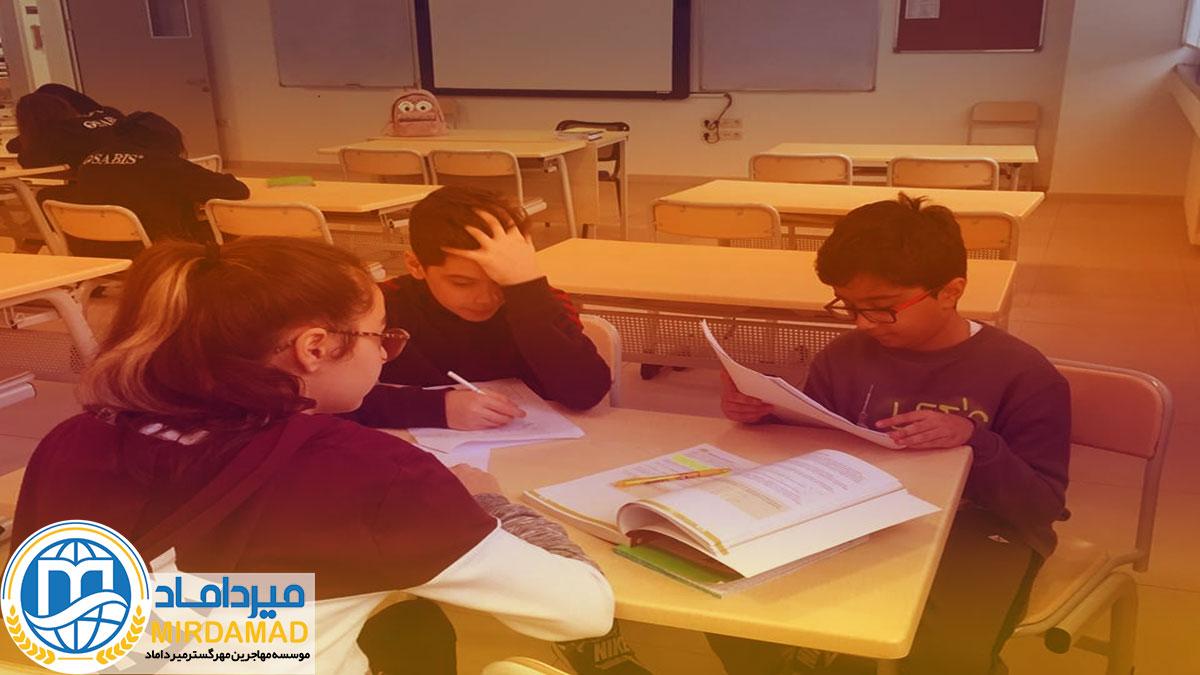 الگوی تحصیلی در مدارس بین المللی آذربایجان