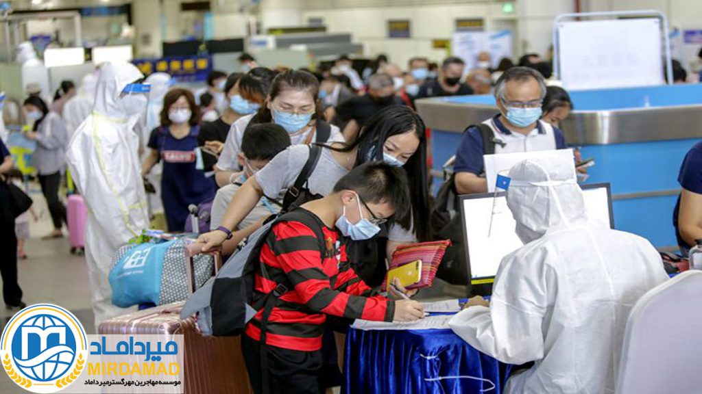 قوانین جدید سفر به چین در دوران کرونا