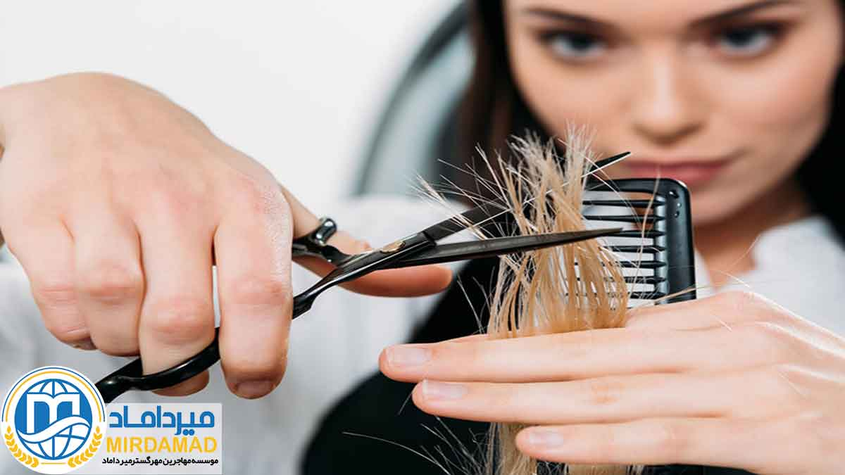 محتوای دوره های آرایشگری در ترکیه
