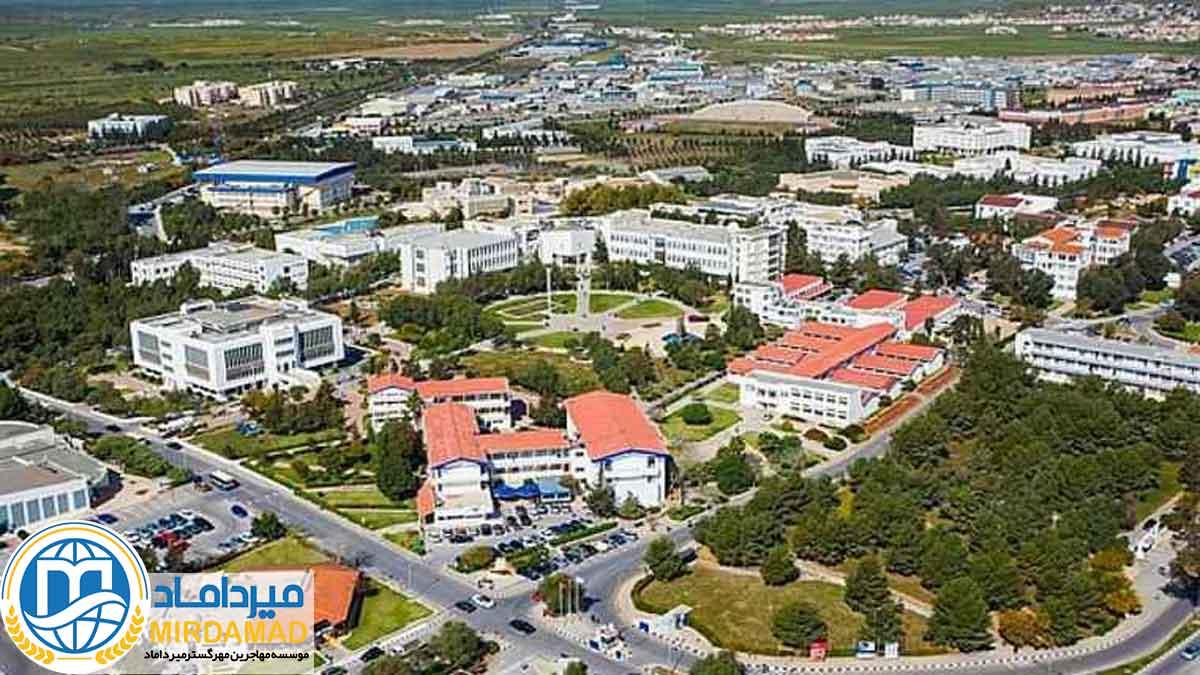 خوابگاه دانشگاه آکدنیز ترکیه